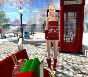 Elemiah - red shopping 1